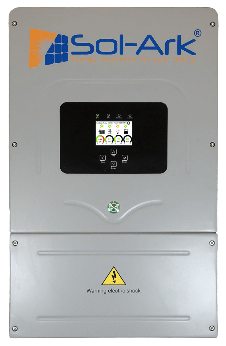 Sol-Ark 12K ALL-IN-ONE Solar Hybrid Inverter MPPT PCS