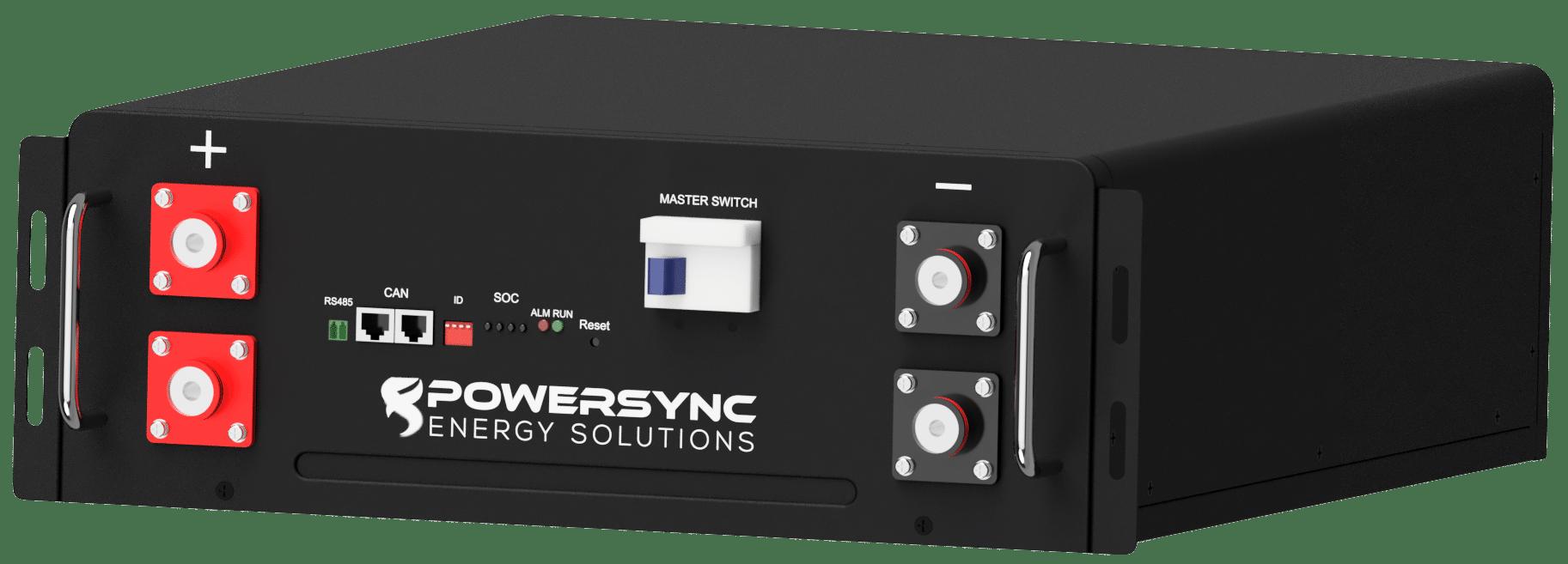 LV-ESS 51.2V-100Ah LiFePO4 Lithium Ion Battery Module
