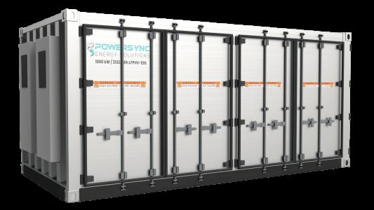 POWERSYNC 1MW-2132kWh-Renewable Energy Storage System UL-9540 UL-1973 HD 2