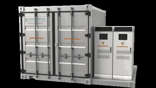 POWERSYNC 250kW-502kWh-Renewable Energy Storage System UL-9540 UL-1973 HD